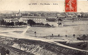 Fort Montluc - The fort at the beginning of the 20th century