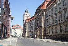 L'Università europea Viadrina a Francoforte sull'Oder