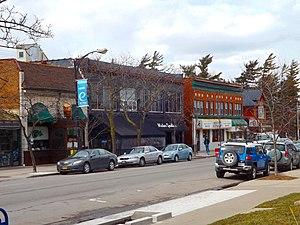 Elmwood Village, Buffalo - Image: EV North