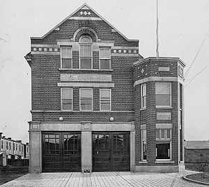 Toronto Fire Services - Station 226 in 1911
