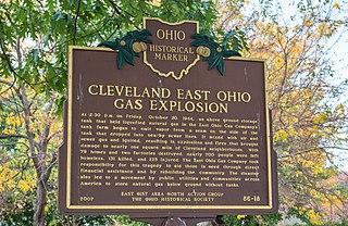 Cleveland East Ohio Gas explosion