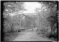 East portal - Station Road Bridge, Spanning Cuyahoga River, Brecksville, Cuyahoga County, OH HAER OHIO,18-BRECK,4-3.tif
