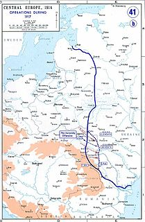 last Russian offensive in World War I