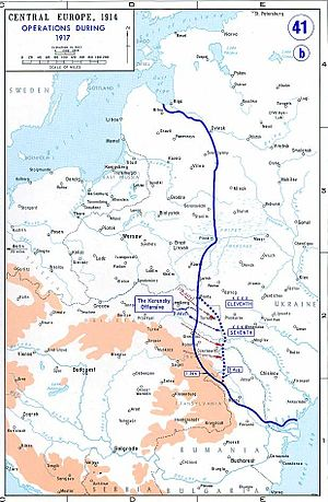 Operationen an der Ostfront 1917