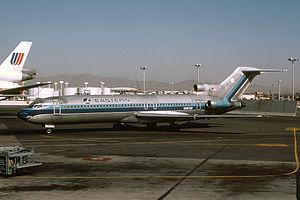 Eastern Air Lines Flight 980 - Image: Eastern Boeing 727 200 Silagi 1