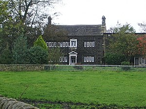 Eastwood, West Yorkshire - Eastwood Old Hall is the ancient seat of the Eastwoode family