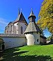 Eberstein Hochfeistritz Kapelle in Wehrkirchenanlage Ost-Ansicht 19102012 825.jpg