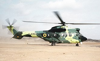Eurocopter AS532 Cougar - An Ecuadorian Army Cougar