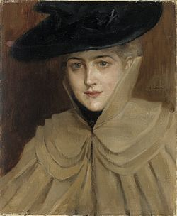 EDELFELT, Albert  Portrait of a Young Woman 1891