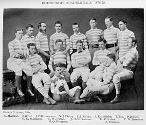 Edinburgh Academical Football Club - The team for the 1878–79 season.