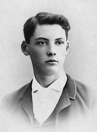 Edwin Arlington Robinson - Image: Edwin Arlington Robinson 1888