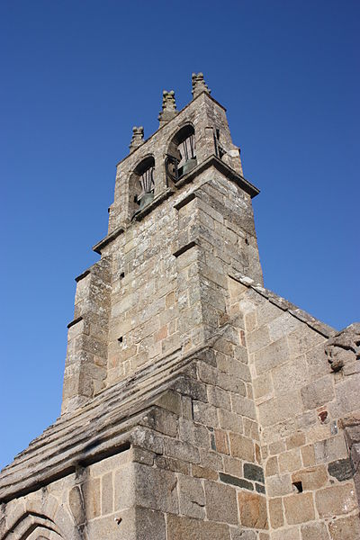 Church of Kerfot (Côtes d'Armor, Brittany, France)