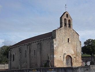 Bost, Allier - The church in Bost