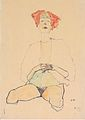 Egon Schiele - Sitzender Halbakt mit rotem Haar - 1910.jpeg