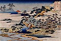 Eight Views of the Ryukyu Islands by Hokusai (Urasoe Art Museum) - Sacred Fountain at Castle Peak.jpg