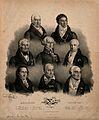 Eight famous European doctors. Lithograph by J. F. G. Llanta Wellcome V0006763.jpg