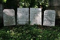 Ejsmond i Natanson grób 02.JPG