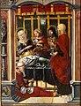 El nacimiento de la Virgen, del Maestro de Sigena (Museo de Huesca).jpg