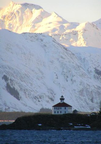 National Register of Historic Places listings in Haines Borough, Alaska - Image: Eldred Rock