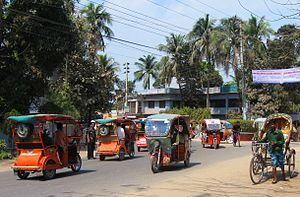 Electric rickshaw - Customized electric rickshaws in Comilla, Bangladesh