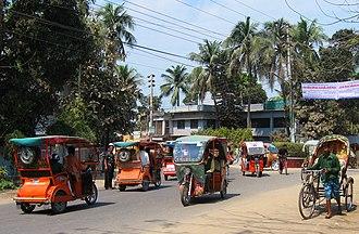 Electric rickshaw - Customized electric rickshaws in Comilla, Bangladesh