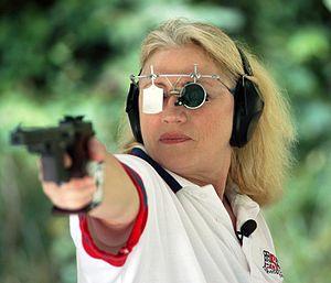 Elizabeth Callahan - Callahan competing at the 2008 Olympics