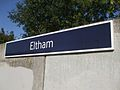 Eltham station signage.JPG