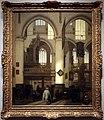 Emanuel de witte, interno della chiesa vecchia ad amsterdam, 1686.jpg