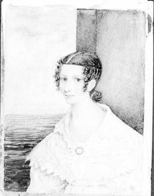 Emily Tennyson, Lady Tennyson - Emily Tennyson, c. 1837