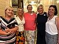 Emma Rogan MLA, Karen Mullan MLA & Michelle O'Neill with SAIL NI representatives at Pink News event.jpg
