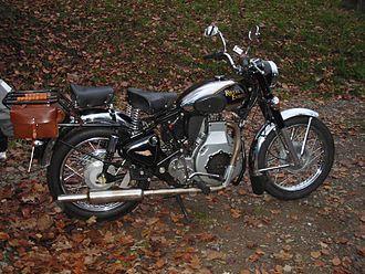 Diesel motorcycle - Sommer dieseled Royal Enfield