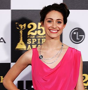 Actress Emmy Rossum at the 2010 Independent Sp...