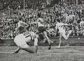 Empire Stadium Wembley 110 Metres Hurdles Olympic Heat, Olympic Games, London, 1948 (7649949104).jpg
