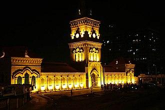 Empress Market - The market at night