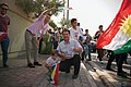 En route to the pro-Kurdistan referendum and pro-Kurdistan independence rally at Franso Hariri Stadiu, Erbil, Kurdistan Region of Iraq 02.jpg