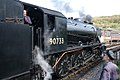 Enginemen take a break at Keighley, before the last train of the day. - panoramio.jpg