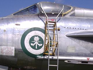 Military aircraft insignia markings applied to aircraft for identification