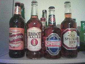 English bottled ales