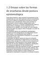 Ensayo sobre las formas de enseñanza desde postura epistemológica.pdf