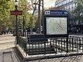 Entrée Station Métro Michel Bizot Paris 1.jpg