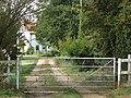 Entrance to Little Church Farm - geograph.org.uk - 1493082.jpg