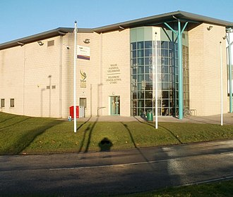Wales National Velodrome - Image: Entrance to Wales National Velodrome, Newport geograph.org.uk 2206031