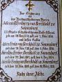 Epitaph Johann Bapt. Freiherr von Berchtold zu Sonnenburg St. Sebastiansfriedhof.jpg