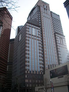 EQT Plaza skyscraper in Pittsburgh, Pennsylvania