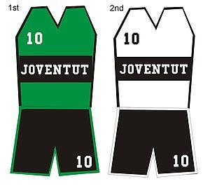 Joventut Badalona - Traditional uniform of Joventut Badalona.