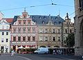 Erfurt Fischmarkt Erfurt Gildehaus and Am breiten Herd 2015-08.JPG