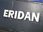 Eridan Name on the Bow Tallinn 11 September 2013.JPG