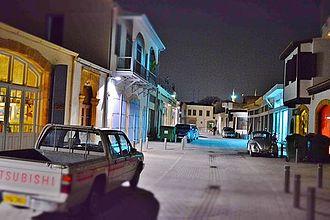Hermes Street - Hermes street by night in November 2014