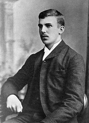 Ernest Rutherford - Rutherford aged 21