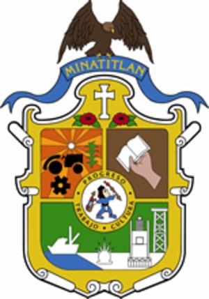 Minatitlán, Veracruz - Image: Escudomina